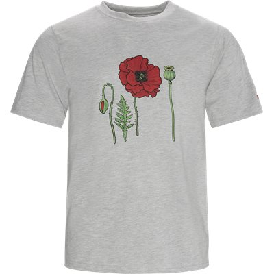 Poppy Tee Regular | Poppy Tee | Grå
